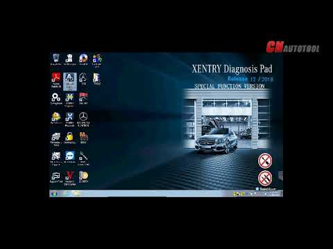 2018.12 MB Star SD Connect C4 C5 DAS  XENTRY Activate VIDEO
