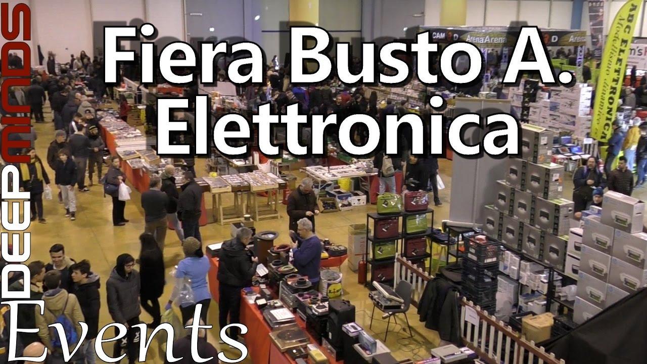 Fiera elettronica busto arsizio 21 01 2017 youtube for Fiera elettronica 2017