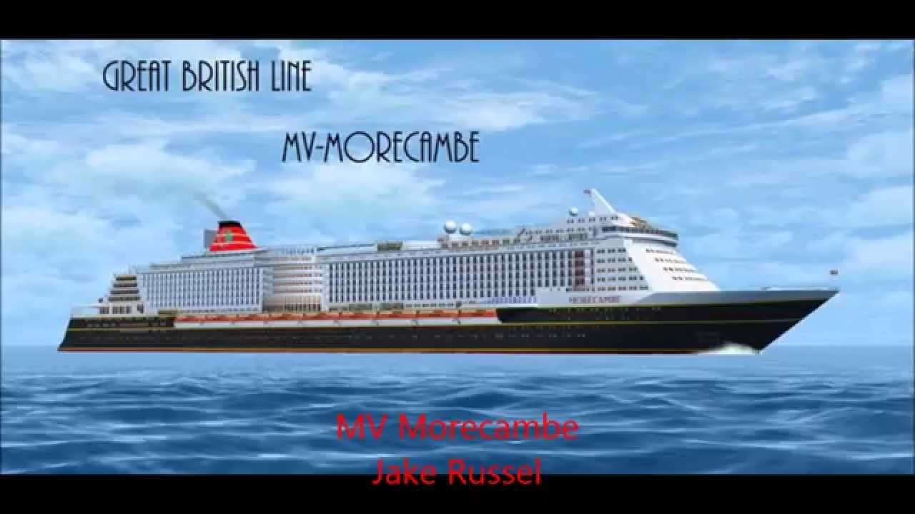 Rms aquitania (1950 edition) for virtual sailor 7 [download in.