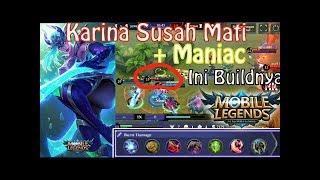 MANIAC !! KARINA DARI Top 3 Global KARINA by 击败人_xmxmxm