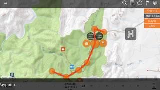 Hema HX-1 Explore: How to Manually Creating a Route