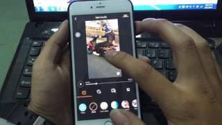 hướng dẫn chèn nhạc vào video qua app viva video