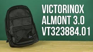 Розпакування Victorinox Altmont 3.0 20 л Чорний Vt323884.01