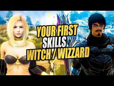 Black Desert Online: Witch/Wizard Beginners Skill Guide