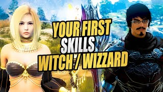 Black Desert Online: Witch/Wizard Beginners Skill Guide