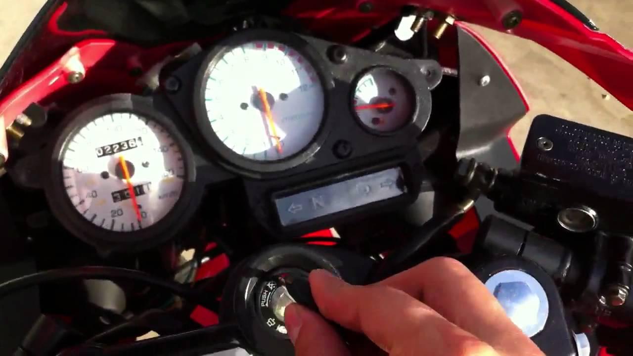 250 SXR start up