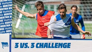 Tempo & Tore: 3 vs. 3 Trainings-Challenge | Hertha BSC