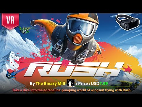 Rush Gear VR - Take a dive into the adrenaline-pumping with