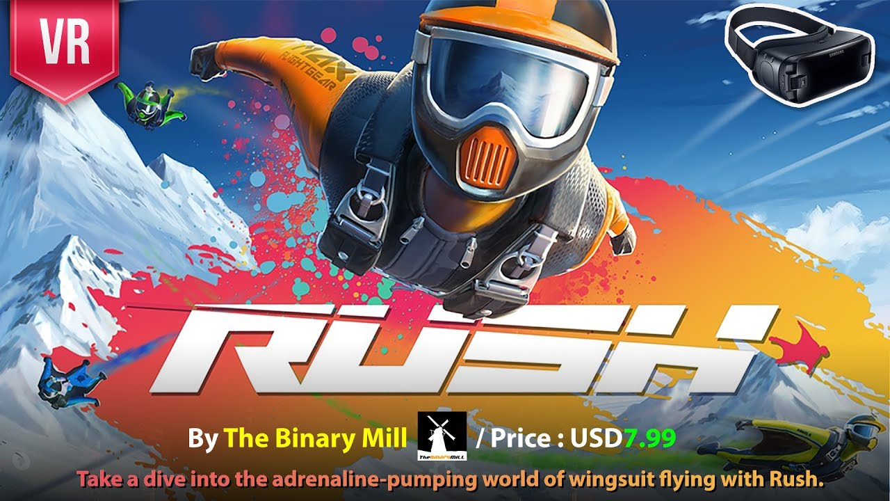 Rush Gear VR - Take a dive into the adrenaline-pumping with the Best VR  Wingsuit for mobile