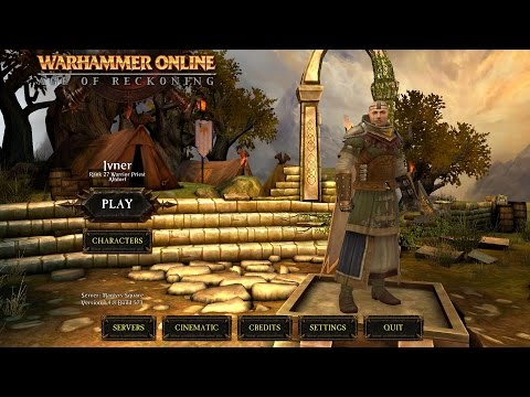 Return of Reckoning (WarHammer online) *Warrior Priest GamePlay* #1