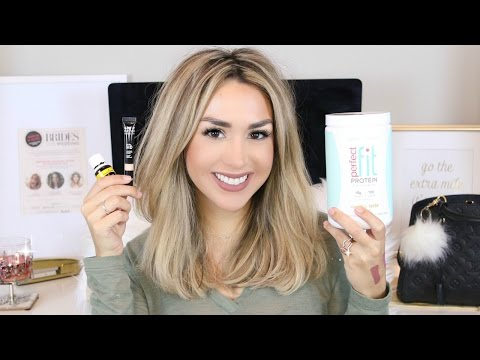 JANUARY LIFESTYLE LOVES! Beauty, Health, Books, Skincare!