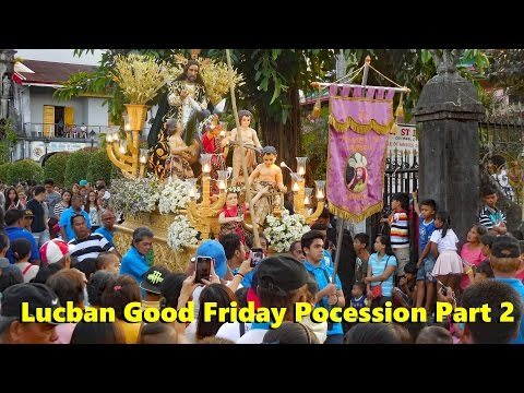 Lucban Good Friday Procession Part 2