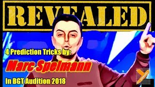 Revealed: Marc Spelmann (Prediction Tricks) in BGT Audition 2018
