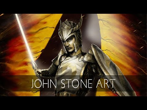 I am Ashen Shugar, I am Tomas, Speedpaint by John Stone Art