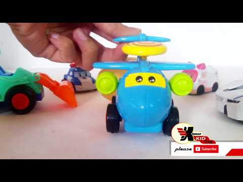Cute Airplan And New Thomas With Open Suprise Egg By Khmer Kid Toy