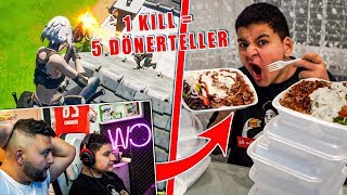 😍PRO KILL = 5 DÖNERTELLER in Fortnite 😂 (Pure Zerstörung 😉)