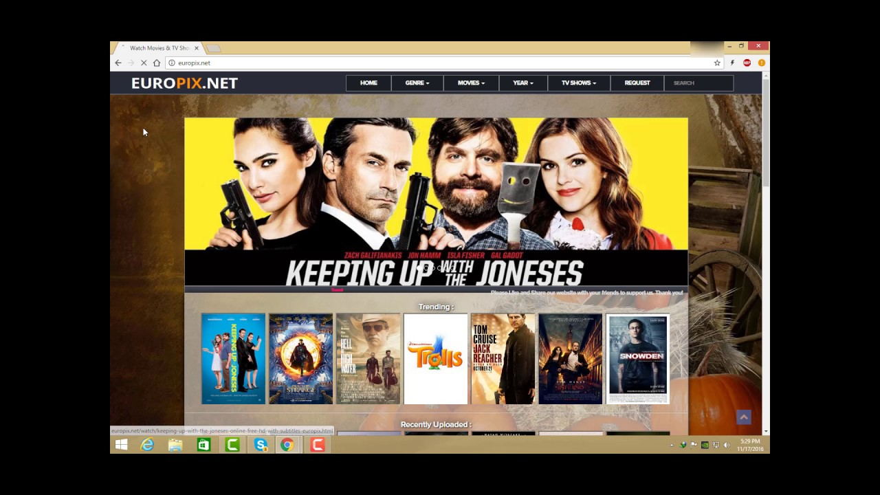 TV shows: a selection of sites