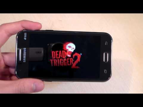 Игры на Samsung Galaxy J1 (RealRacing3, DeadTrigger2, ClashOfClans)