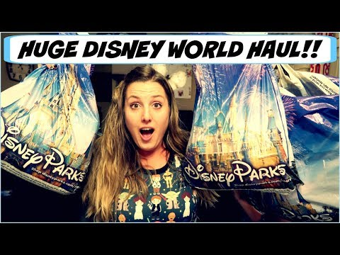HUGE DISNEY WORLD HAUL!   Parks, Resorts, PINS and Character Warehouse Hauls!
