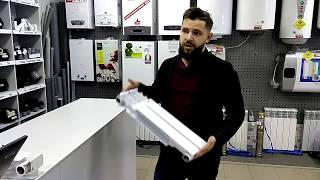 Биметалический радиатор AQUAVITA. Обзор, цна, купить в Украине