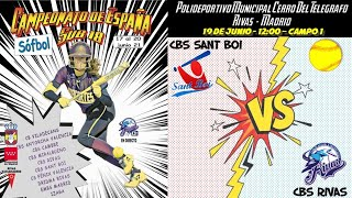 CBS SANT BOI vs CBS RIVAS - 12:00 - GRUPO A - FASE CLASIFICACIÓN