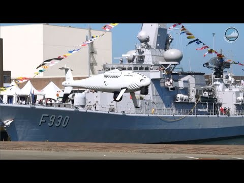 Belgian Navy Days 2018: HNLMS Tromp, NH90NFH, Camcopter, Pluvier, ORP Kormoran