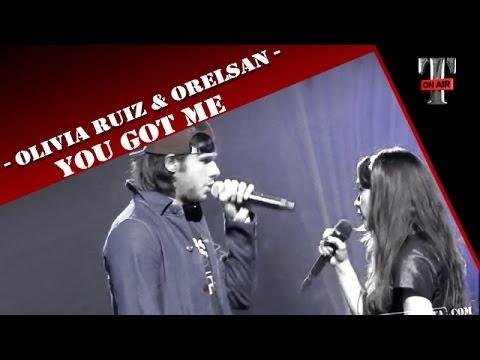 "Olivia Ruiz & Orelsan ""You Got Me""  on TV Show Taratata - Cover Song"