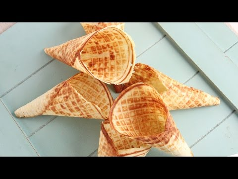 How To Make Waffle Cones | Episode 1065