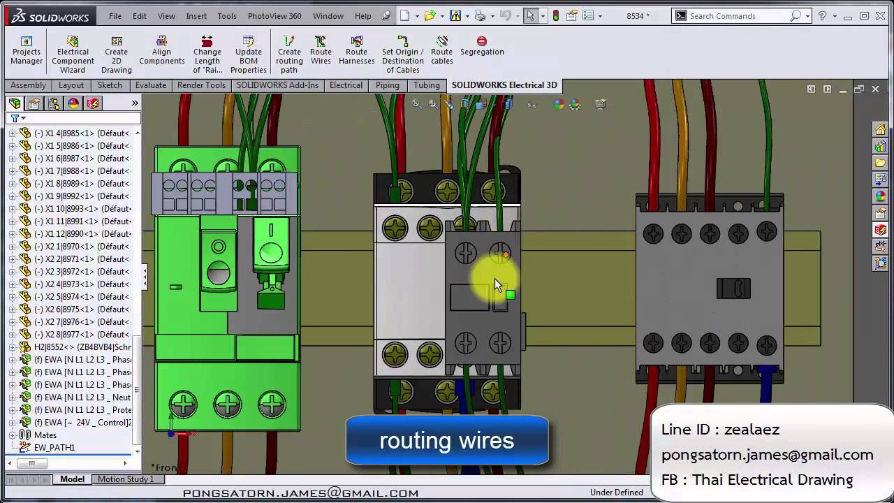 Solidworks electrical 3d youtube for Electrical as built drawings sample