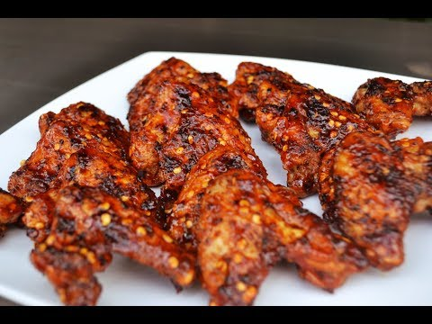 BBQ Chicken Wing With Homemade BBQ Sauce