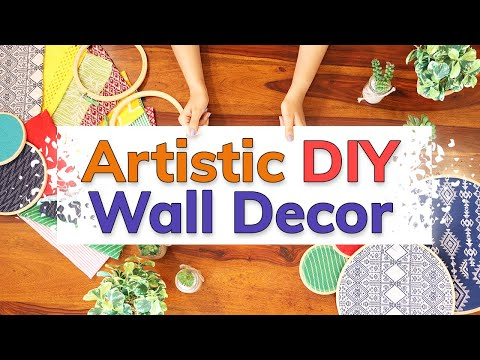 Home Makeover - Artistic DIY Wall Decor 👌👌👌 | Timeless Homes Trendy Makeover - Wooden Street