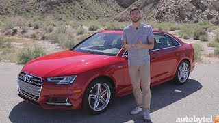 2018 Audi S4 3.0T Premium Plus Test Drive Video Review