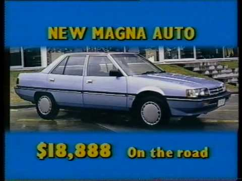 Mitsubishi dealers ad 1989 with Bob Hawke impersonation voice over