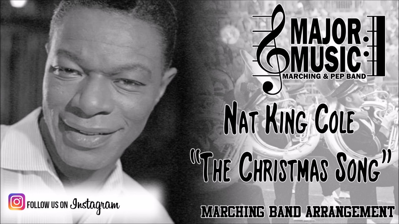 """""""The Christmas Song"""" Nat King Cole Marching/Pep Band Sheet Music Arrangement - YouTube"""