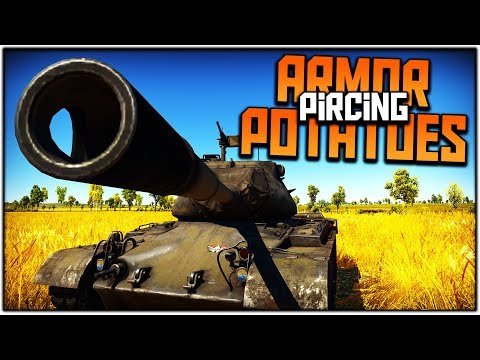 ARMOR PIERCING POTATOES | M47 (War Thunder Tank Gameplay)