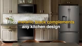whirlpool black stainless suite appliances at jj gloss home appliance center