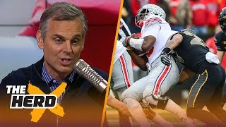 Colin Cowherd reacts to Iowa's 55-24 wİn agaİnst Oнio Stąte duŗing Węęk 10 | TΗE HERD