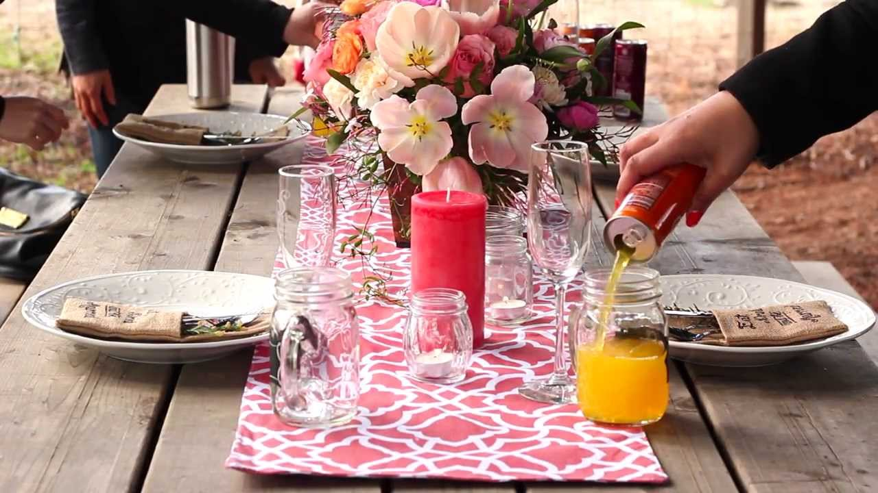 Southern Charm Tablescape: A vintage, rustic, & shabby chic inspired ...