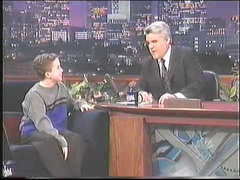 Frankie Muniz On Leno 2000