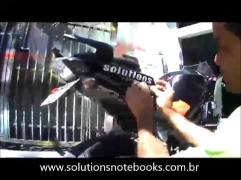 Plotagem da Solutions Notebooks na Comet 650