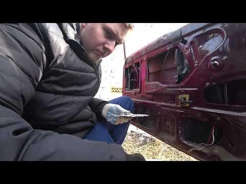 Ремонт замка двери ВАЗ 2107