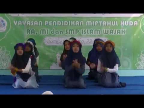 Tari Pembukaan Acara II MI Miftahul Huda II PHBI Isra' Mi'raj Yayasan Miftahul Huda