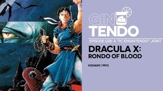 Gintendo Stream #028 Redux - Dracula X: Rondo of Blood all over again