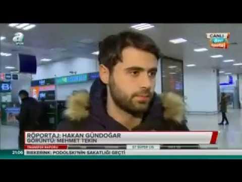 Galatasaray'ın yeni transferi Ahmet Çalık İstanbul'da!