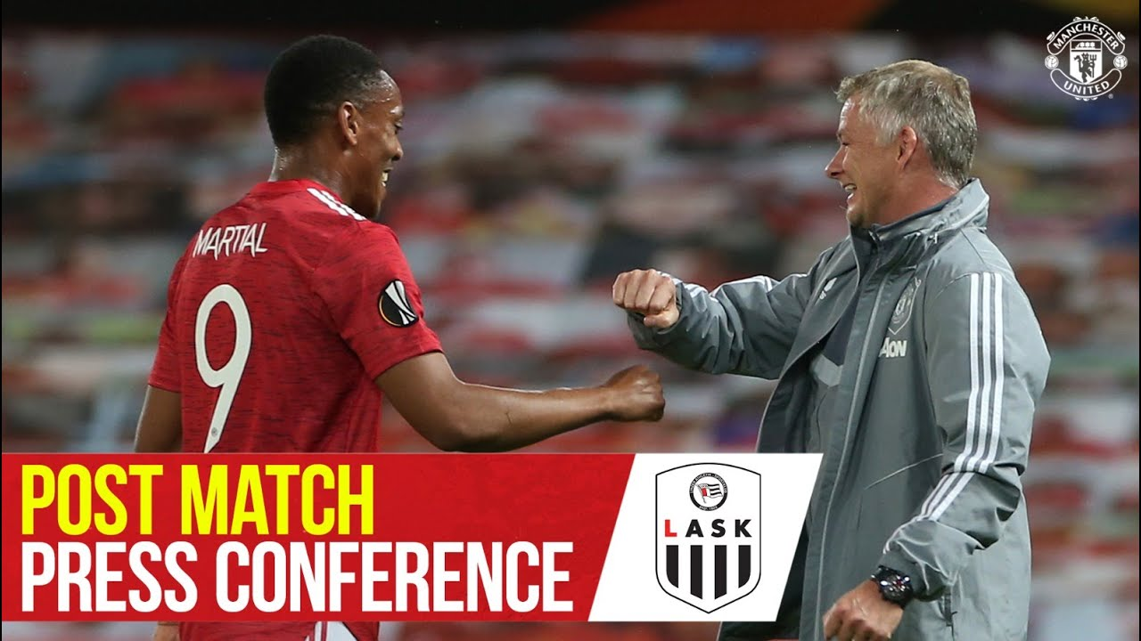Post Match Press Conference | Manchester United 2-1 LASK | Ole Gunnar Solskjaer | Europa League