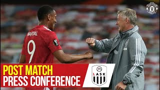 Post Match Press Conference | Manchester United 2-1 LASK | Ole Gunnar Solskjaer | Europa League