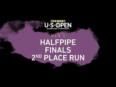 Burton U·S·Open 2020 – Men's Halfpipe Finals Second Place Run – Jan Scherrer