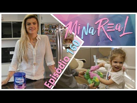 MiNa ReAl | Alimentação da Valentina e ida ao dentista
