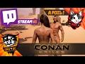 Conan Exiles Kimi & Cro, ça part de la ou pas ! Stream #1