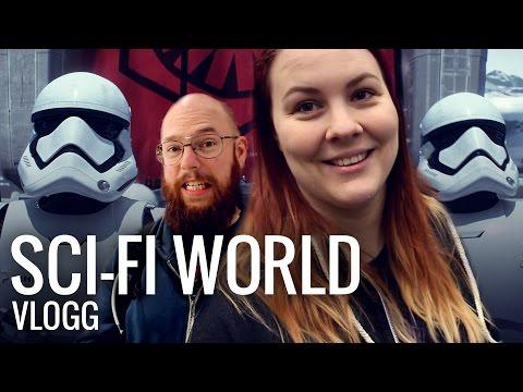 VLOGG: Sci-Fi World i Stockholm